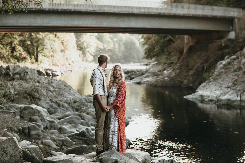 Tillamook Forest Wedding Portland Wedding Photographer