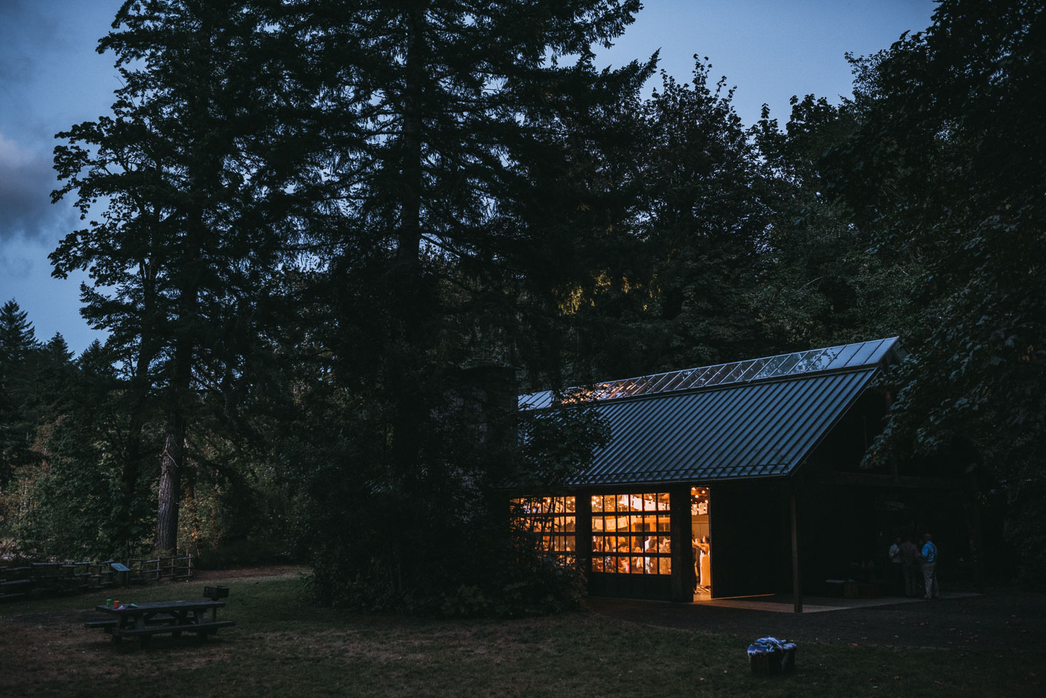 Tillamook State Forest wedding venue