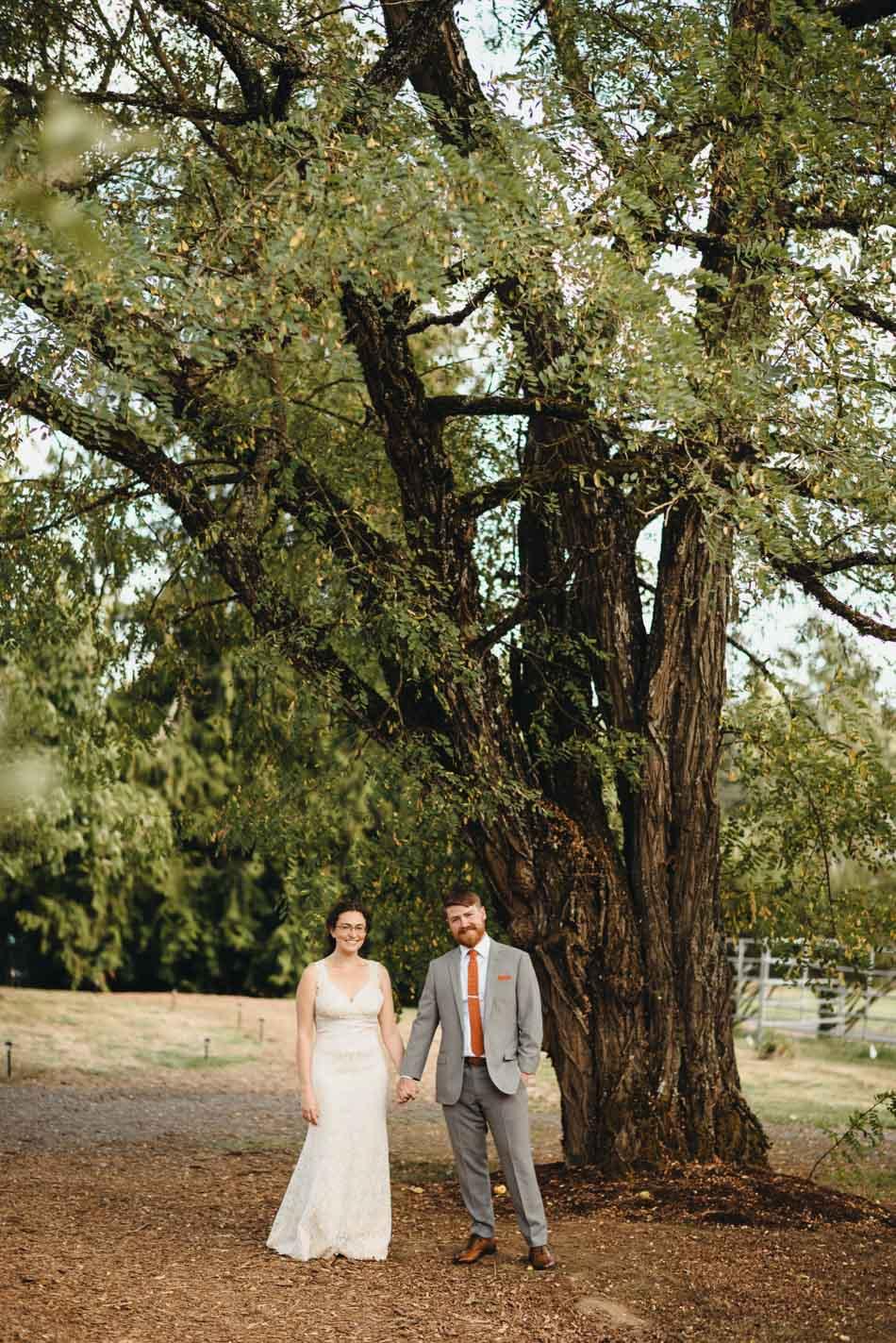 pendarvis farm wedding bryan aulick portland wedding