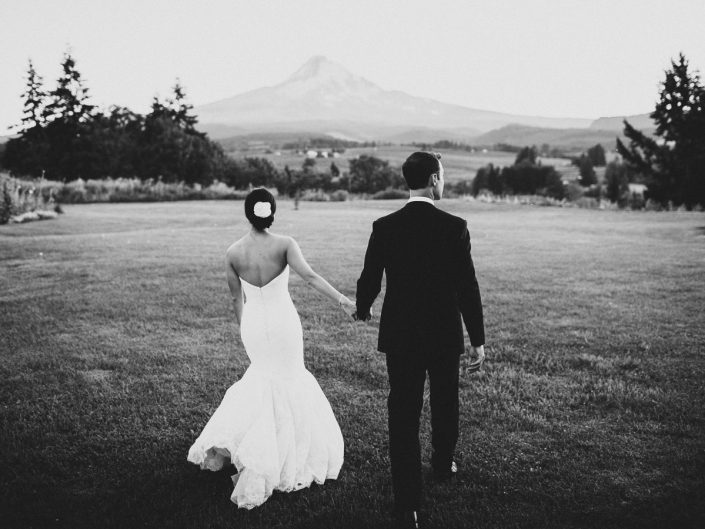 Wedding at Mt Hood Organic Farms