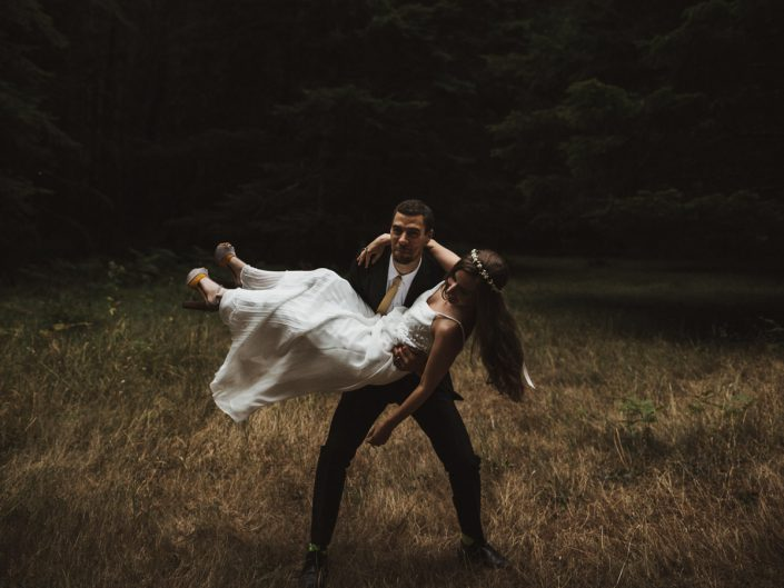 Olympic Peninsula Wedding