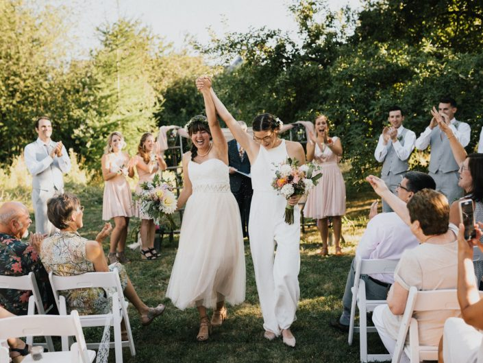Backyard Farm Wedding